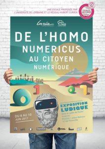 """Exposition Ludique """"De l'Homonuméricus au Citoyen Numérique"""" @ Puzzle"""