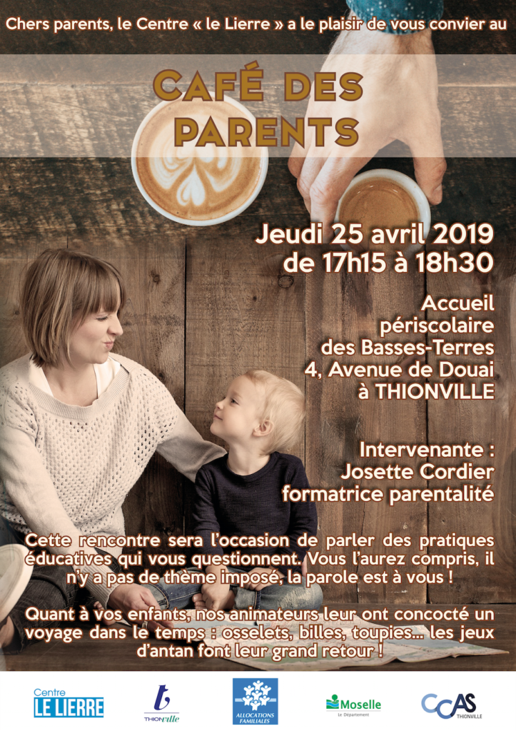 L'actualité du Café des Parents